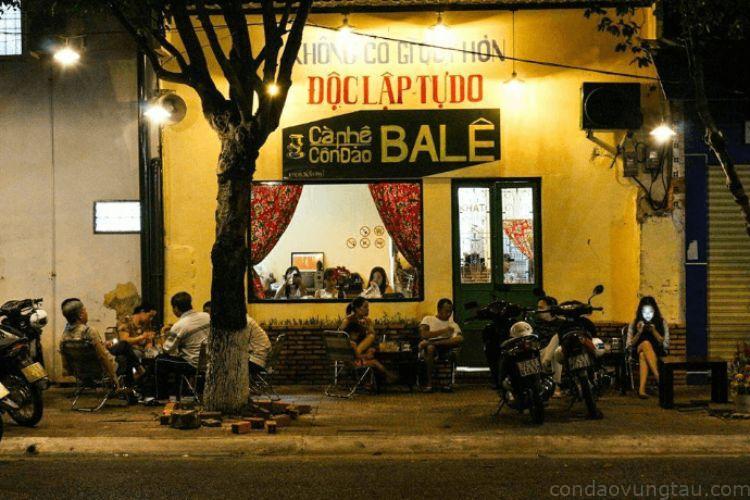 quán cafe Ba Lê