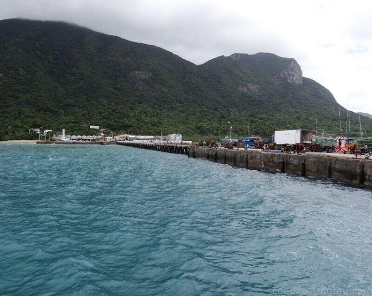 vai trò cảng Bến Đầm