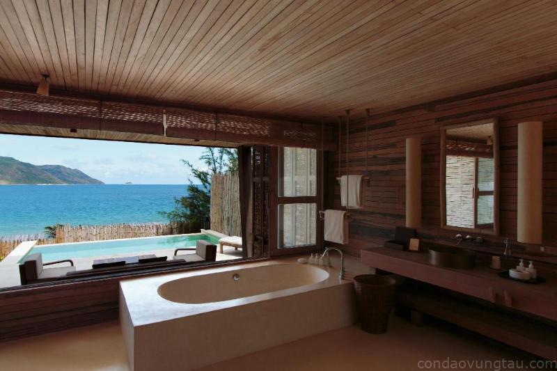 Phòng tắm Six Senses Côn Đảo