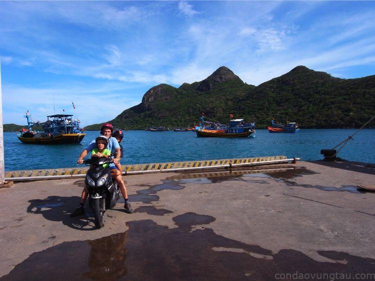 Thuê xe máy tại Côn Đảo