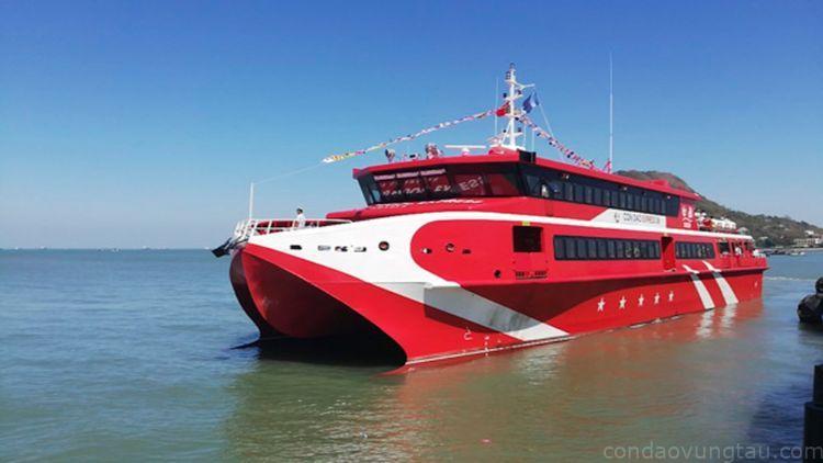 giá vé tàu cao tốc đi côn đảo từ vũng tàu