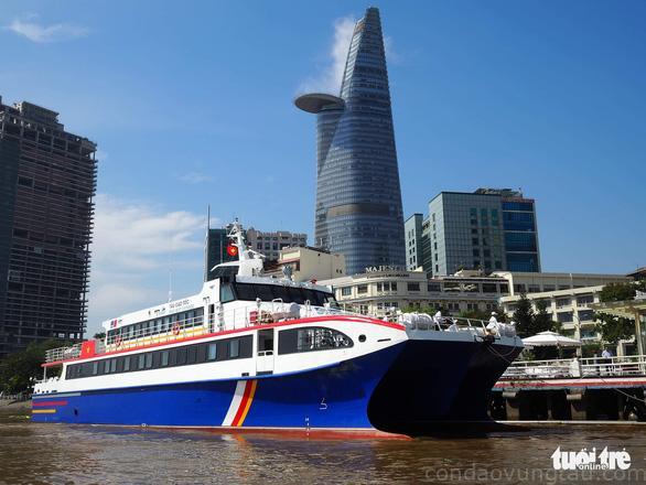 Dự kiến tàu sẽ vận hành chặng Sài Gòn - Côn Đảo vào tháng 3-2019, hành khách lần đầu tiên có thể di chuyển từ TP.HCM đi thẳng đến Côn Đảo bằng đường thủy trong khoảng thời gian dưới 5 tiếng