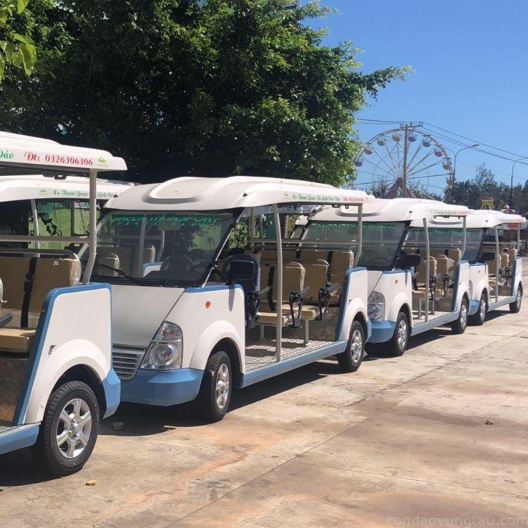 Xe điện Côn Đảo