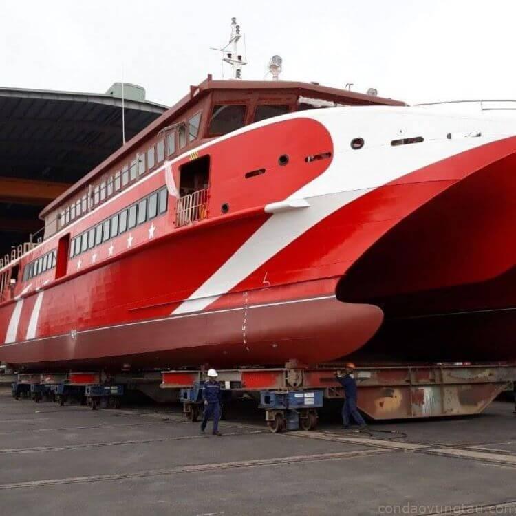 Tin Vui: Tỉnh BR-VT cho vay 47,4 tỉ đóng tàu cao tốc Vũng Tàu- Côn Đảo