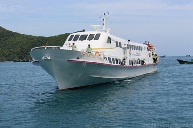 Tàu cao tốc tuyến Sóc Trăng - Côn Đảo